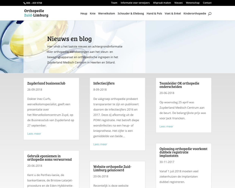Orthopedie Zuid-Limburg